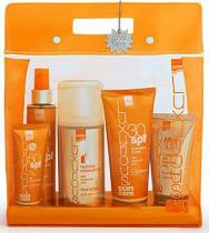 Luxurious Sun Care-descriptionerName Luxurious Sun Care Intermed Luxurious Suncare, Πακέτο Αντιηλιακής προστασίας που περιέχει Sunscreen Cream Spf 30 200ml, Face Cream Spf 50 75ml, Luxurious Suncare Tanning Oil Spf 6 200ml, After Sun Cooling Gel 150m